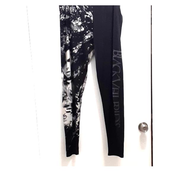 Band Merch Pants - Black veil brides leggings